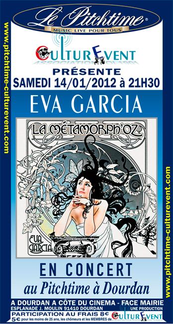 Eva Garcia en concert